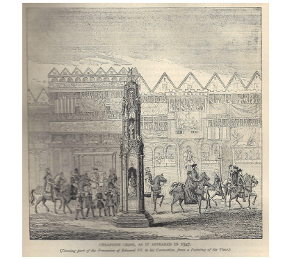 Cheapside Cross in 1547