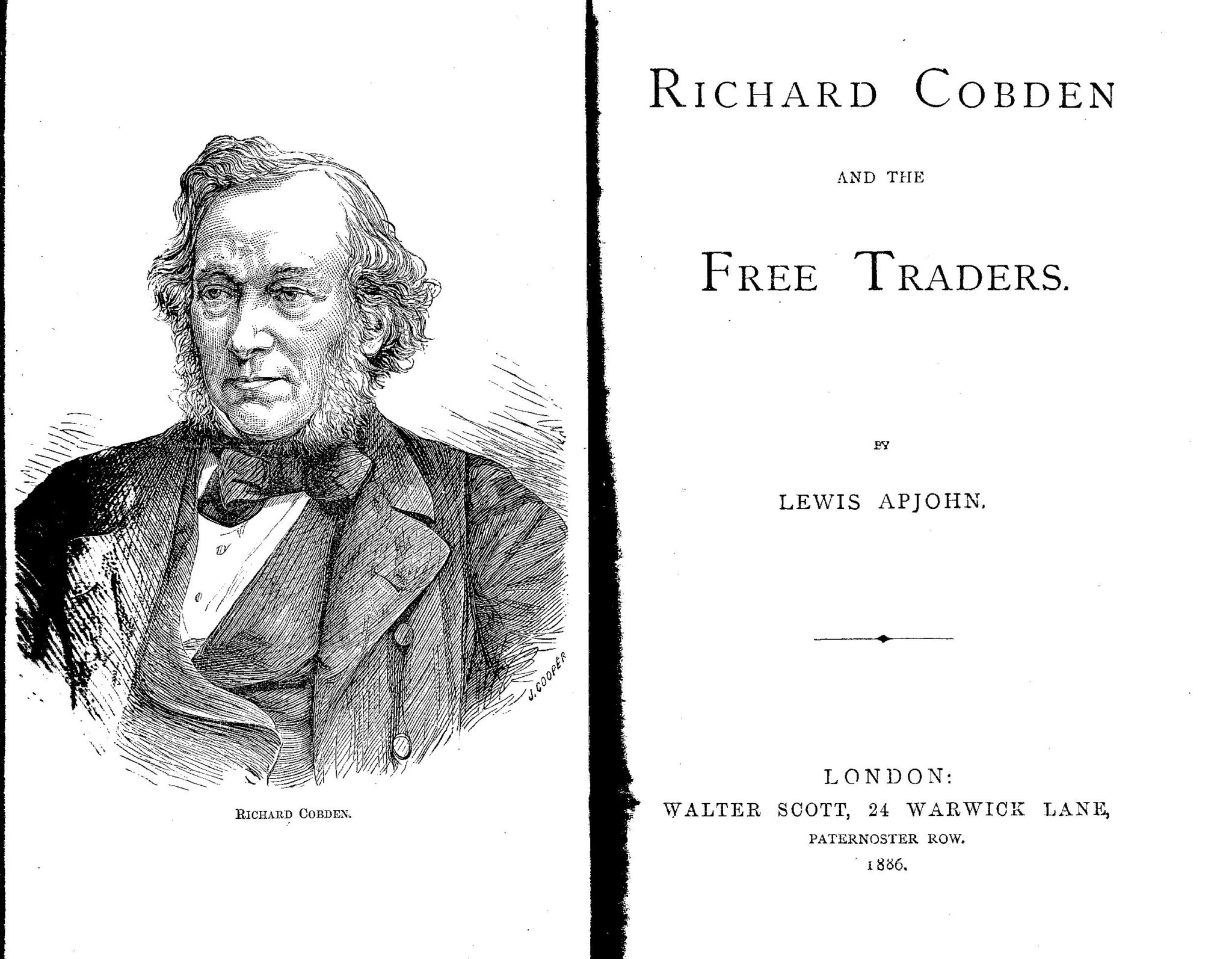 Richard Cobden and the Free Traders PSL/1886/0012b 1