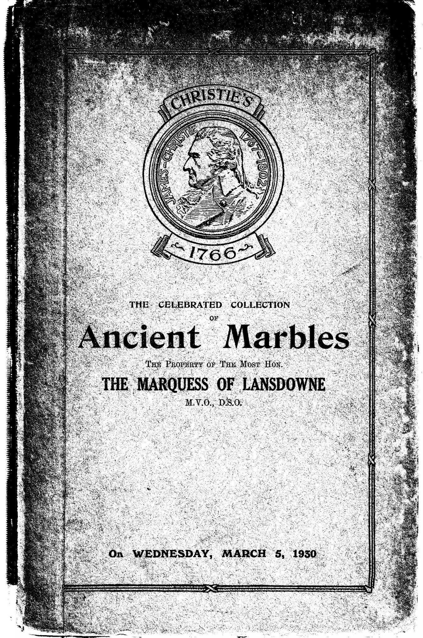 Ancient Marbles PSL/1930/0007b 1