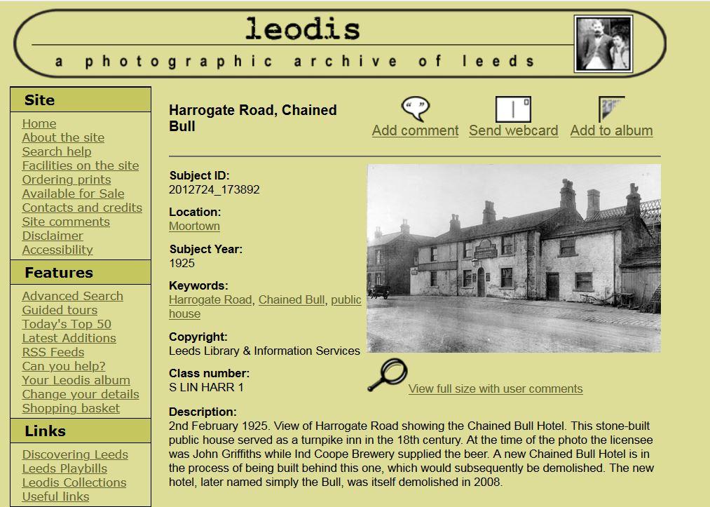 A Pub History Scrapbook Archive