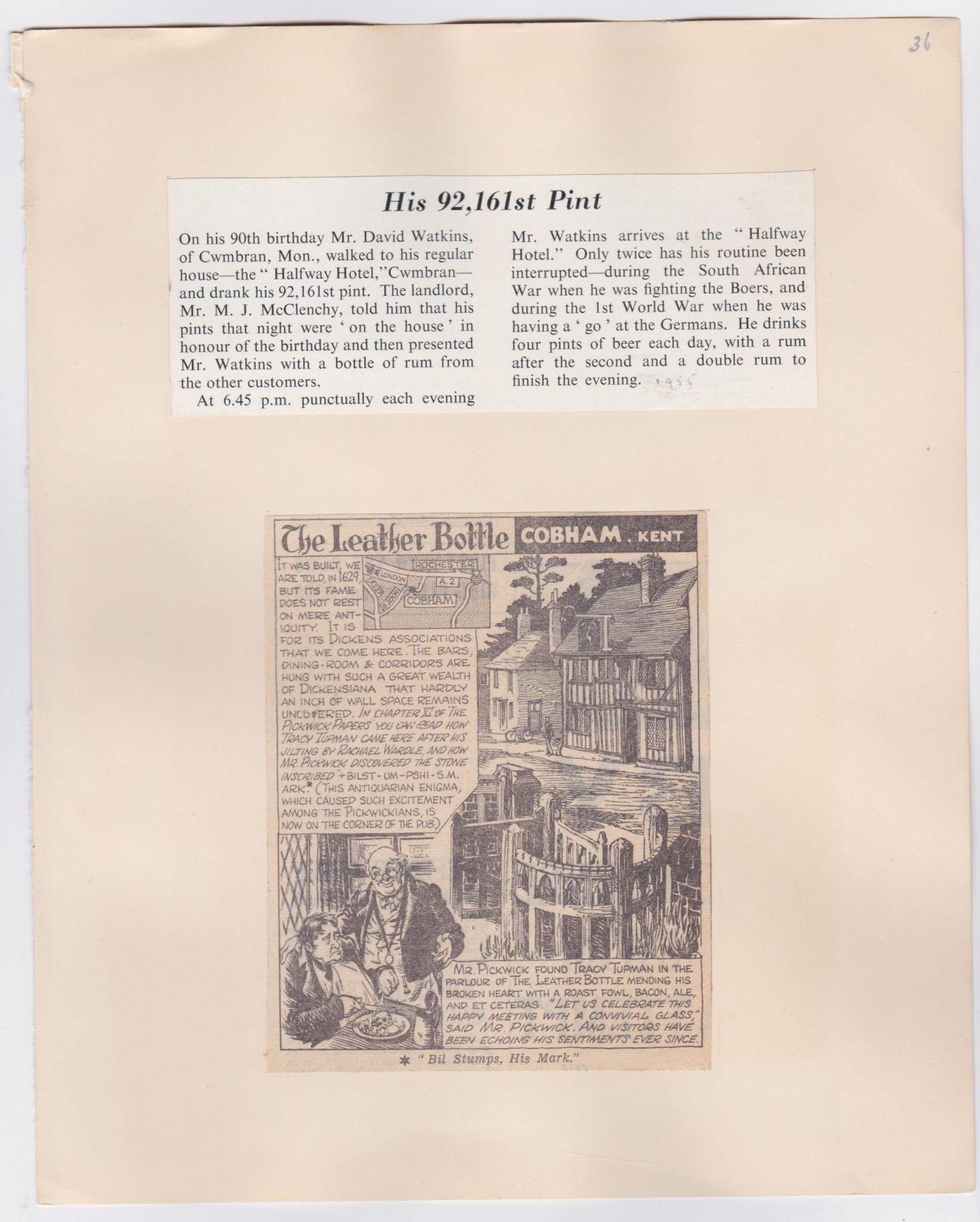 A Pub History Scrapbook Archive 9