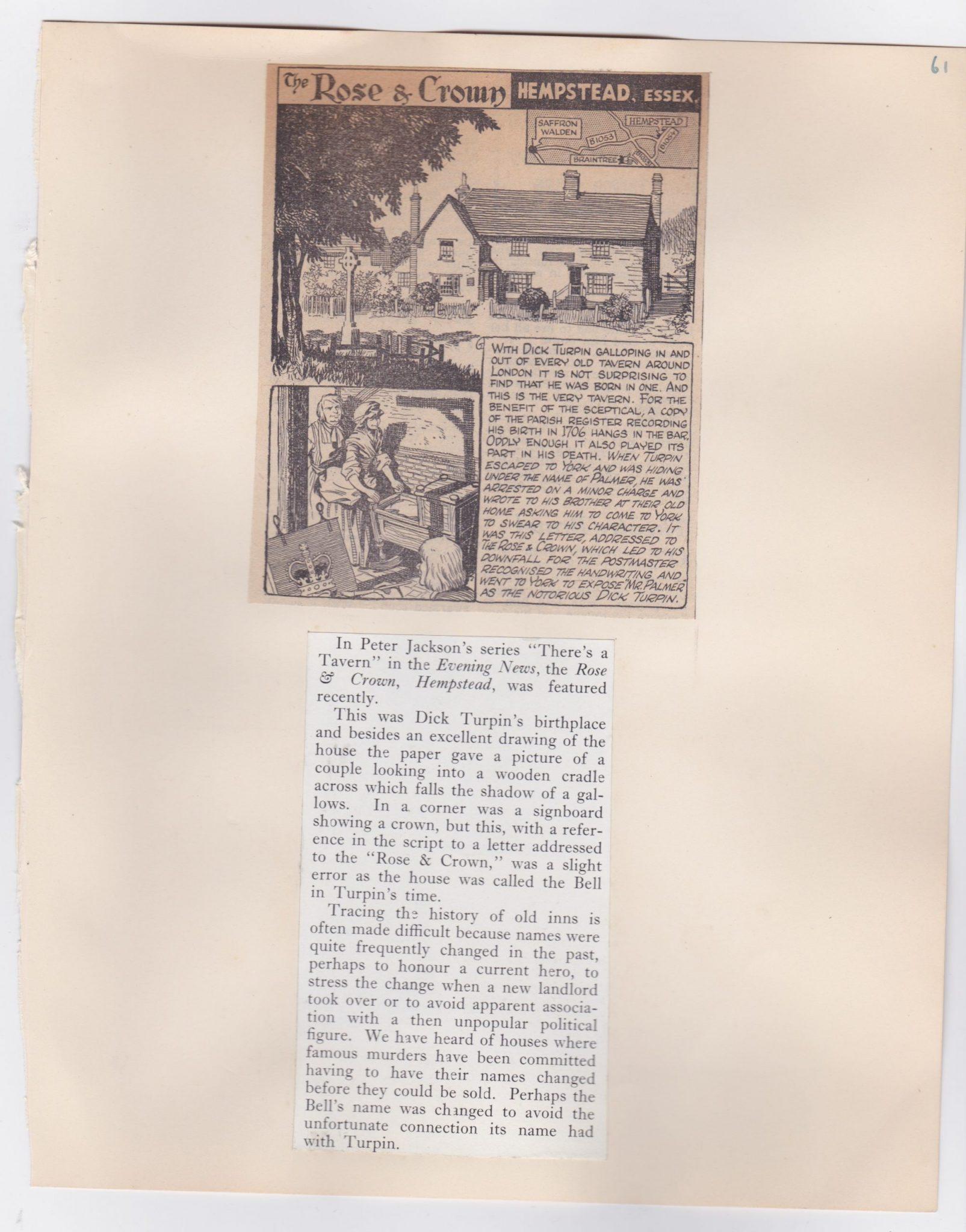 A Pub History Scrapbook Archive 21