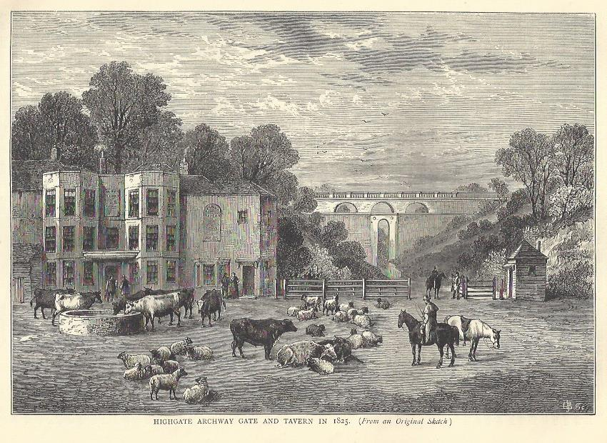 Old London Pubs and Landscapes 7