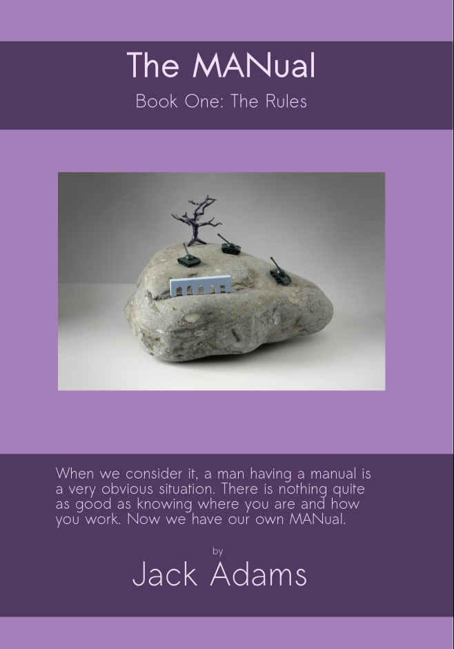 The MANual book cover
