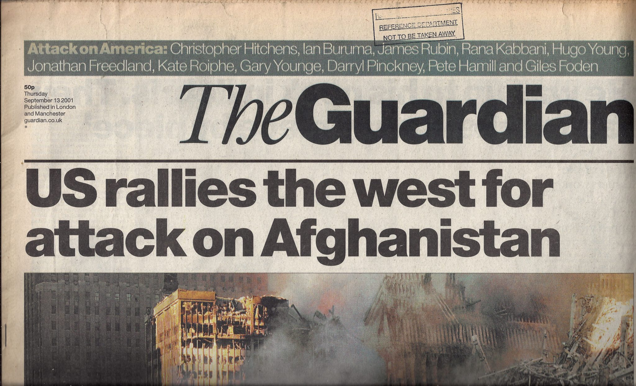 anomalies front page of The Guardian 130901