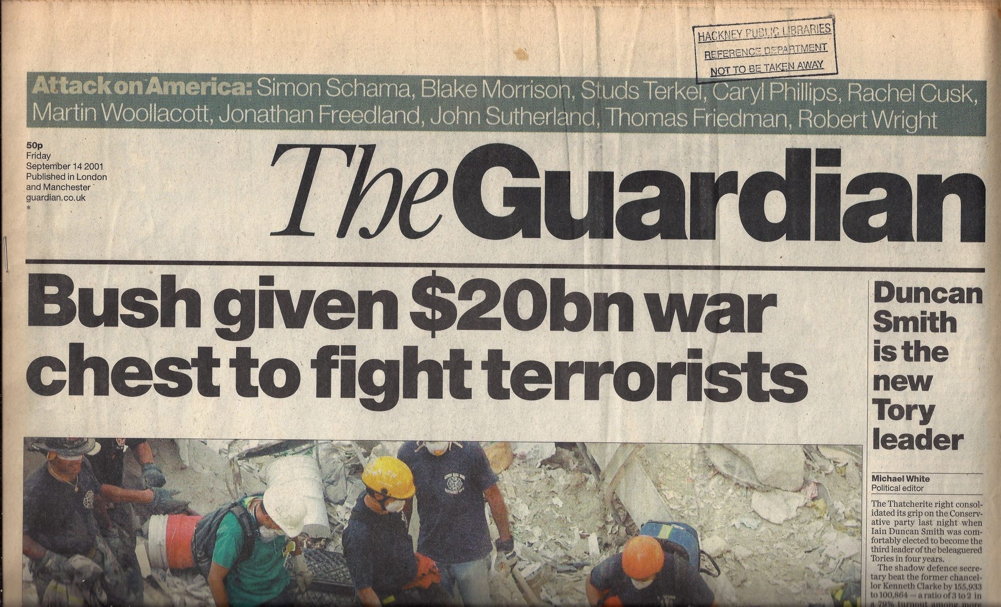 anomalies front page of The Guardian 140901